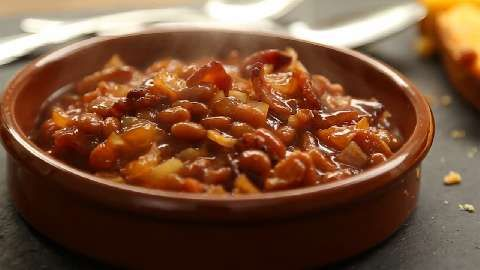 Down Home Baked Beans Allrecipes.com | Food I Love | Pinterest