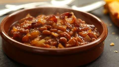Down Home Baked Beans Allrecipes.com | Food I Love | Pinterest