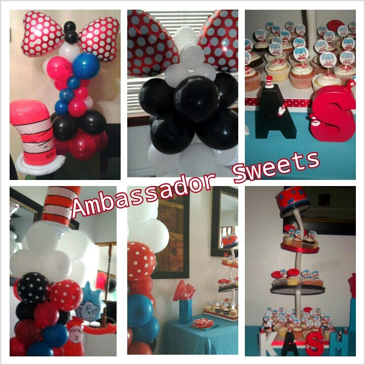 dr seuss baby shower decorations parties and celebrations pintere