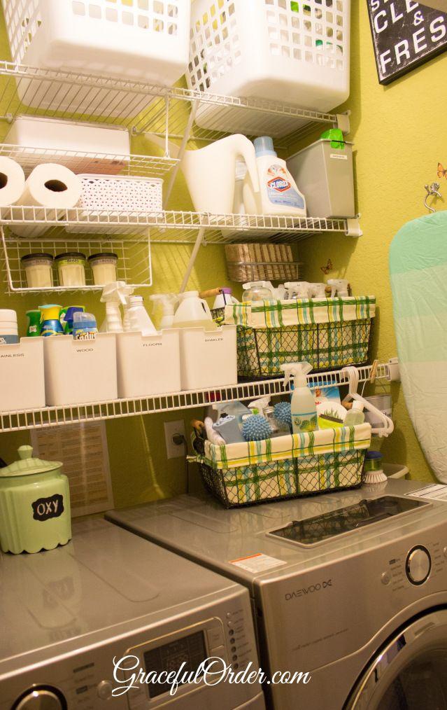Laundry Room Organization Home Sweet Home Pinterest
