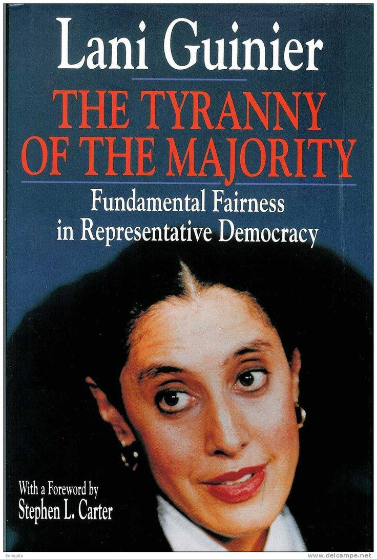 """tyranny of majority Tocqueville's famous argument about """"majority tyranny"""" in democracy in america   to the idea of majority tyranny by jared sparks early in his visit to america,."""