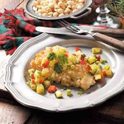 Macadamia Nut Crusted Tilapia with Pineapple Salsa by The Fit Fork ...