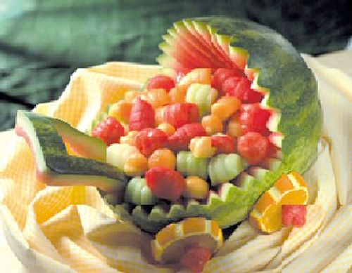 baby shower fruit carriage party time pinterest