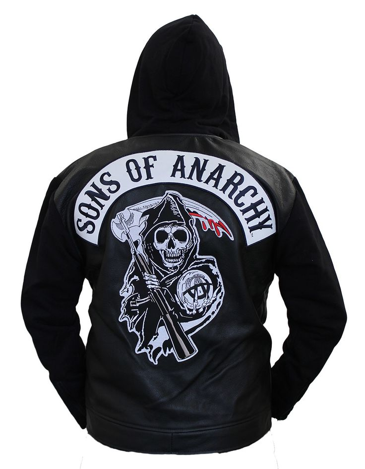 sons of anarchy leather highway jacket mens. Black Bedroom Furniture Sets. Home Design Ideas