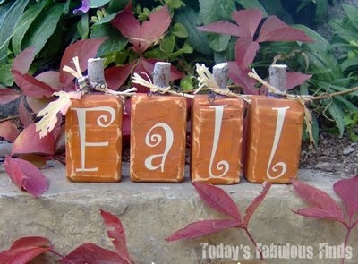 Fall DIY decorations craft-ideas