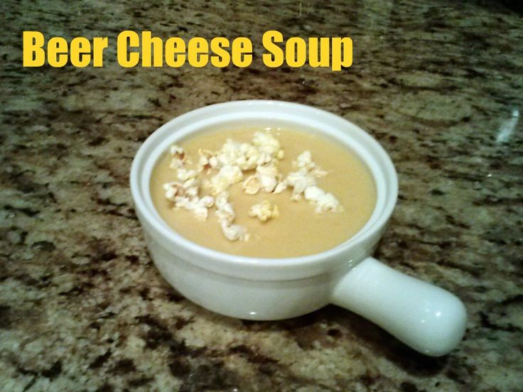Midwestern Beer Cheese Soup Recipe | Soups Sauces and Salsa | Pintere ...