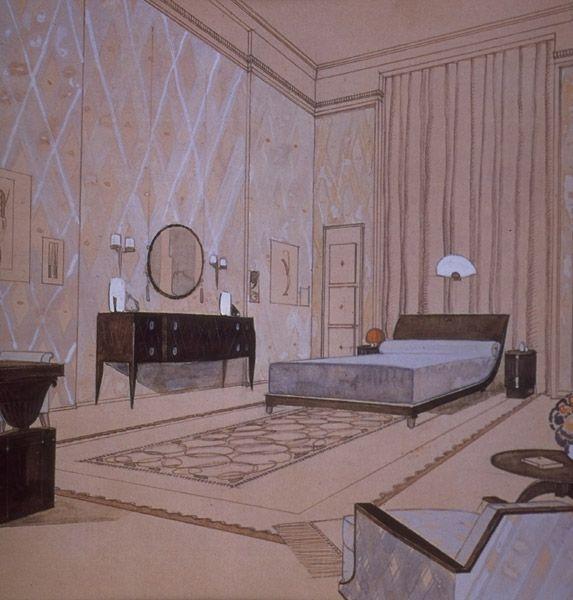 Art Deco Bedroom Design 1930 1930 Pinterest