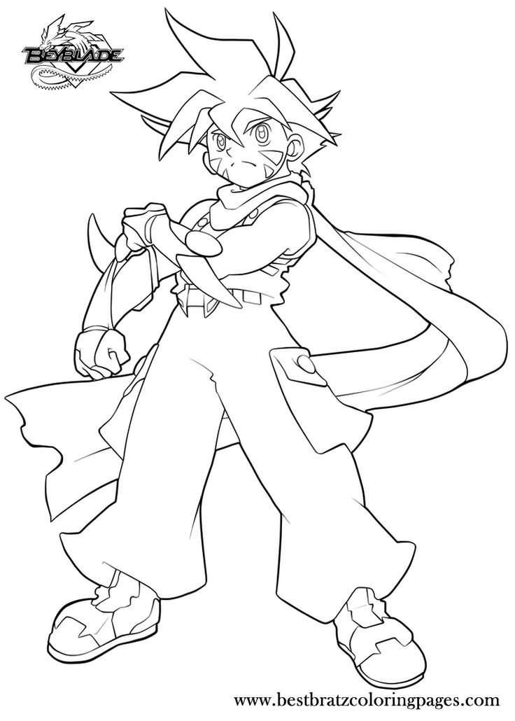 Similiar Shu\'s Beyblade Coloring Pages Keywords