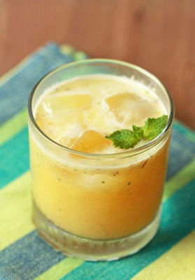Let's Get Tropical! Pineapple ginger punch