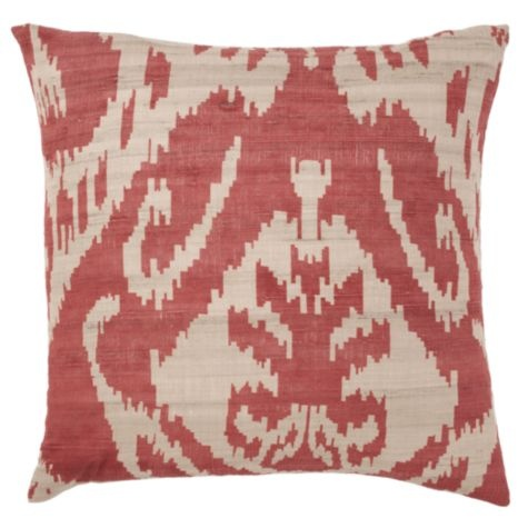 "Avani Pillow 20"" - Red from Z Gallerie 