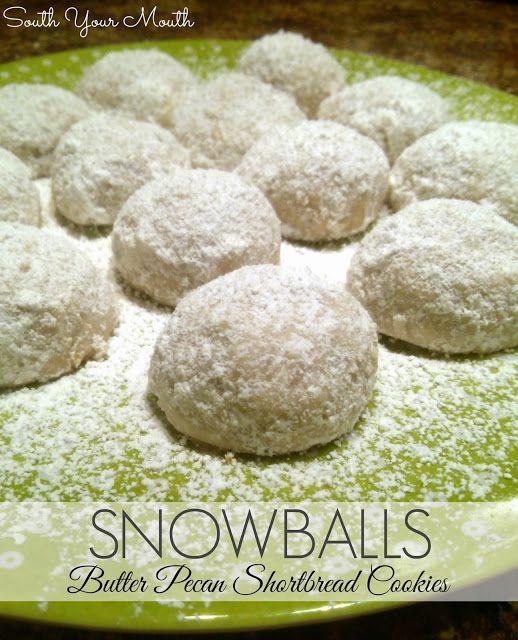 Cinnamon Mexican Wedding Cookies (aka Snowballs) Recipe — Dishmaps