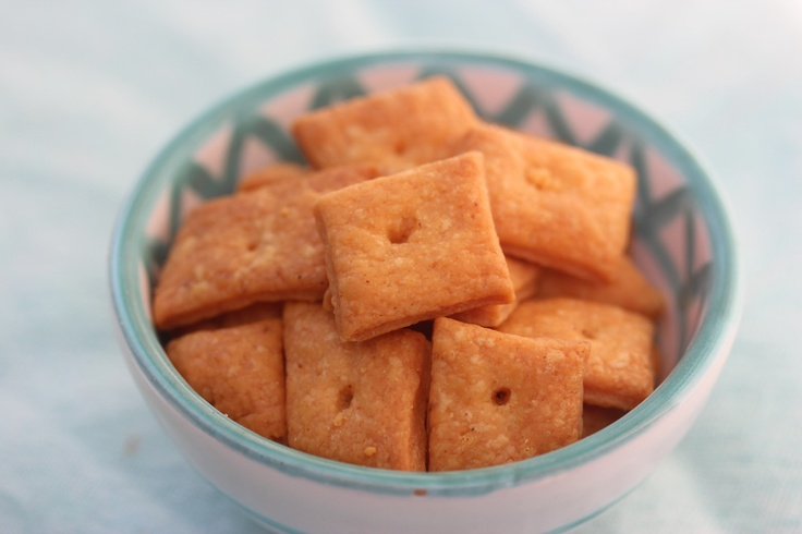 Easy, Homemade Cheese Crackers