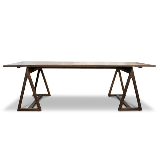 Dining Table Sawhorse Dining Table
