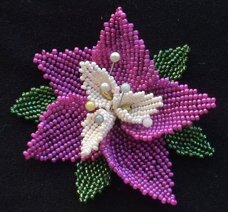 Мастер-класс по мозаичному плетению цветов