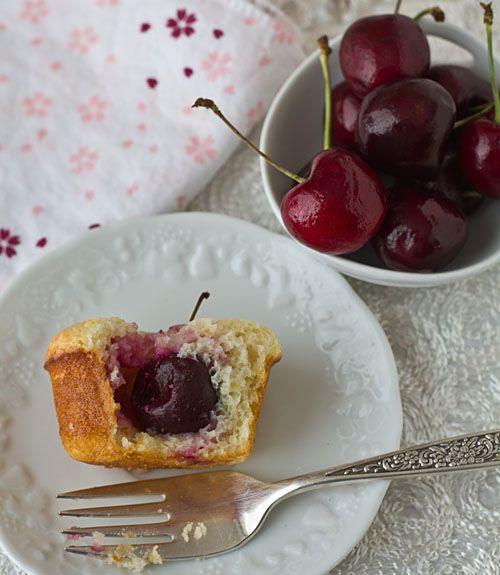 Lemon Cherry Tea Cakes | Lemon | Pinterest