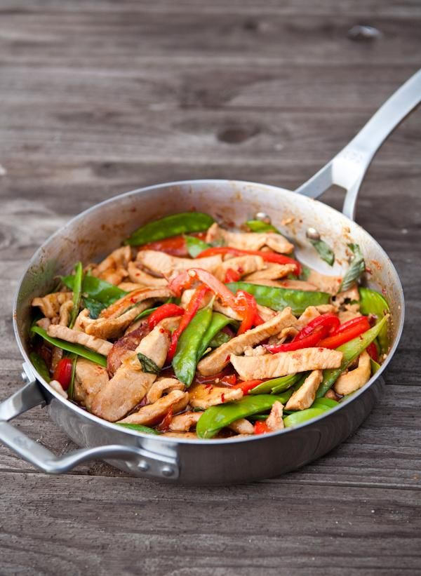 Thai Basil Pork Stir Fry | Food Pantry | Pinterest