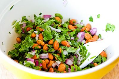 ... pinto bean salad recipe with avocado tomatoes red onion and cilantro