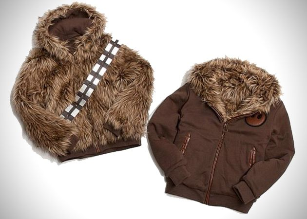 This is too cool. Reversible Chewbacca/Han Solo Jacket.