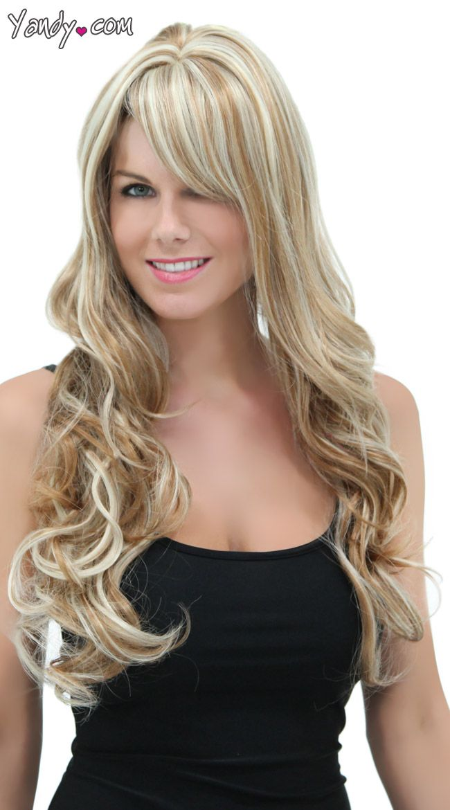 Brown Frosted Blonde Wig 82