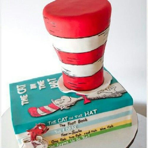 Fun .Dr. Seuss Cake!
