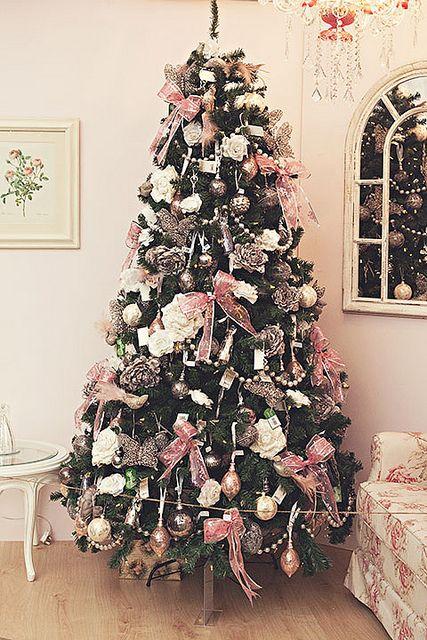 Pink crimbo christmas tree pinterest