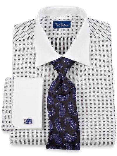 bold shirt tie combo suit tie