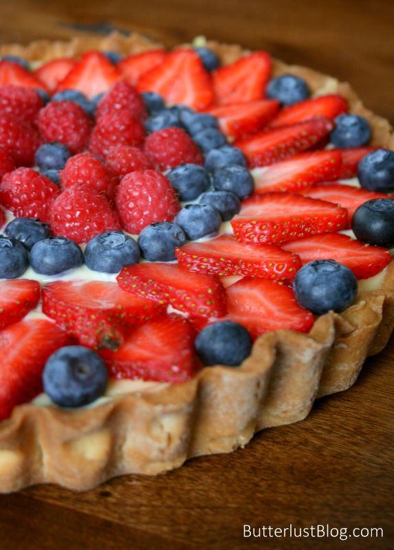Fresh Berry Tart with recipes for making every item of this delicious ...
