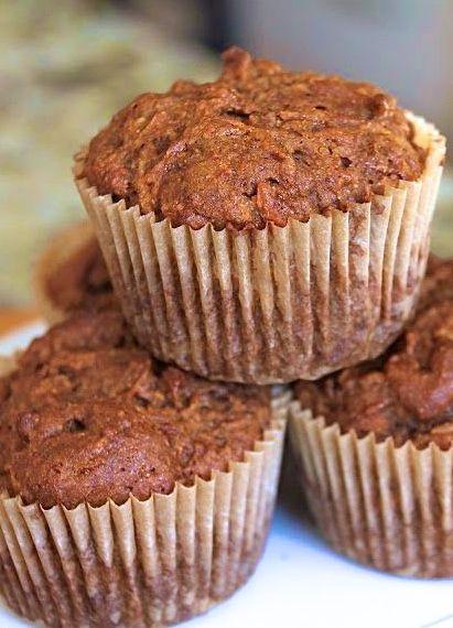 Carrot & Coconut Pineapple Muffins | #glutenfree #dairyfree #eggfree