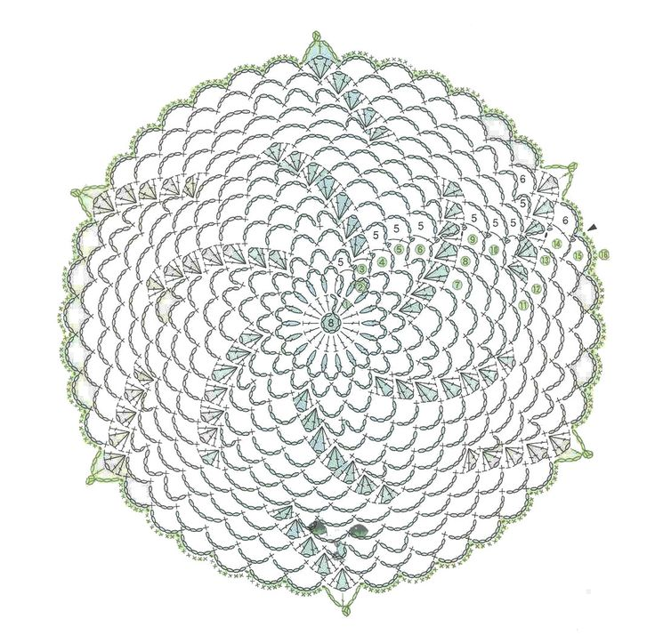 Crochet Circle : circular crochet motifs ... round motif on february 20 2013 by jan ...