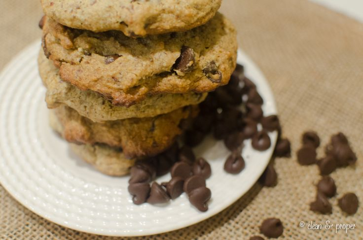 Gluten-Free Paleo Chocolate Chip Cookies | Dolce Delights | Pinterest