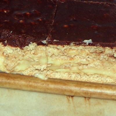 No-Bake Boston Cream Pie Strata(2) http://www.keyingredient.com ...