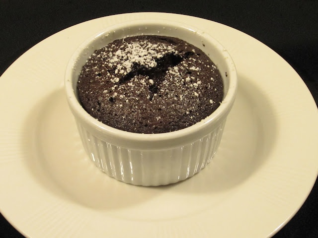Individual Chocolate Souffles | recipes | Pinterest
