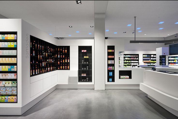 Retail stores floor plans and pharmacy design on pinterest for Modern pharmacy design