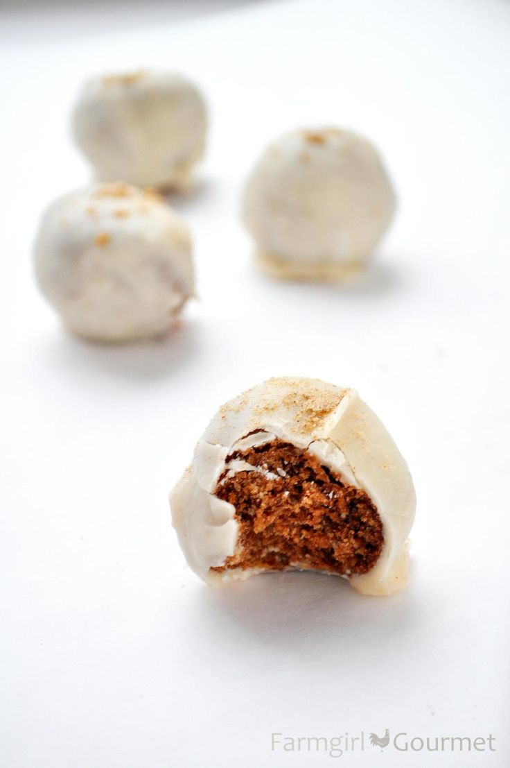 egg nog bourbon balls