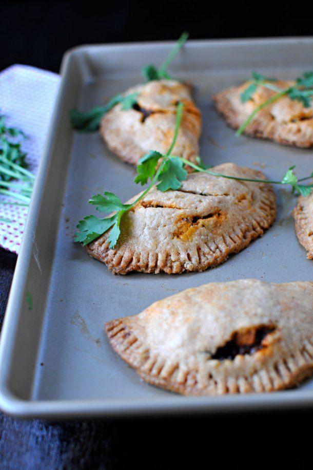 Spicy Soyrizo, Black Bean & Sweet Potato Empanadas | the pig & quill