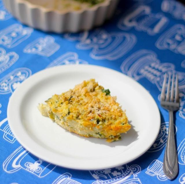 Crustless quiche using swiss chard #healthyrecipes #lowcarbrecipes # ...