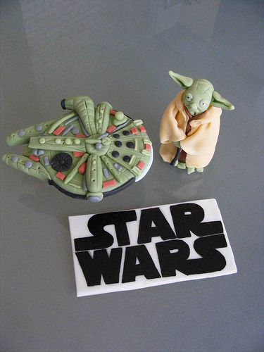 star wars fondant figures