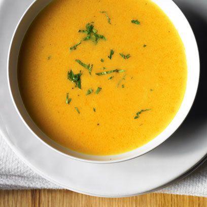 Rachel Allen's Carrot, Ginger & Coconut Soup. Delicious is an ...