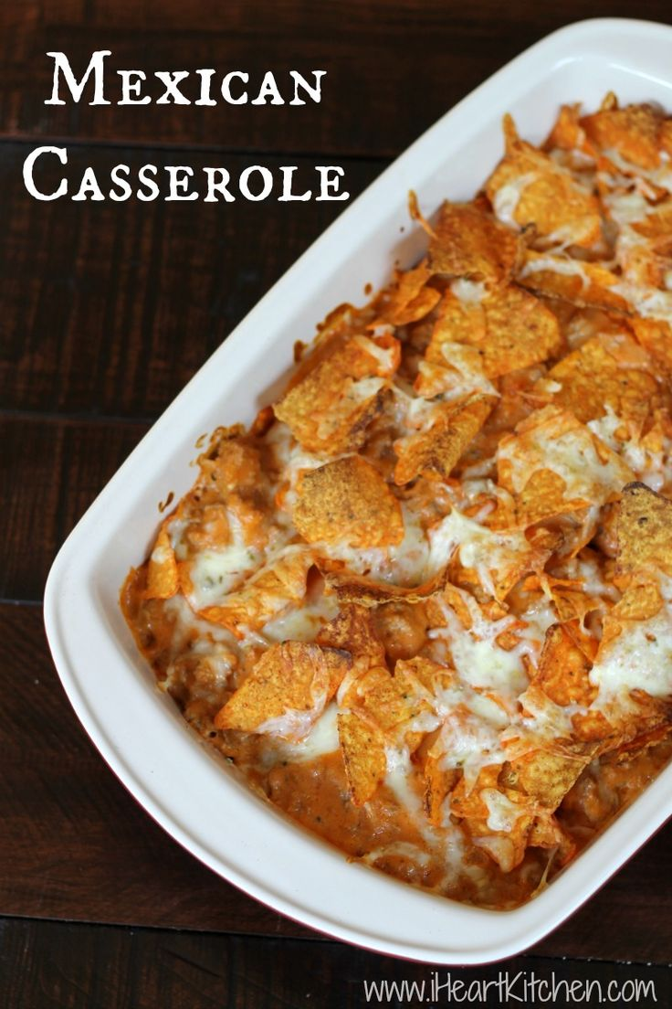 Mexican Casserole Recipe Dishmaps