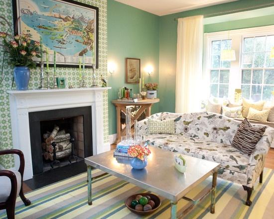 Chestnut hill design house colonial modern living room pinterest