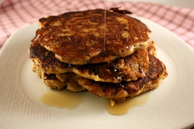 nutty whole grain pancakes...supposed to be like the harvest nut n ...