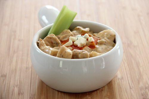 Slow Cooker Buffalo Chicken Chowder | Recipe