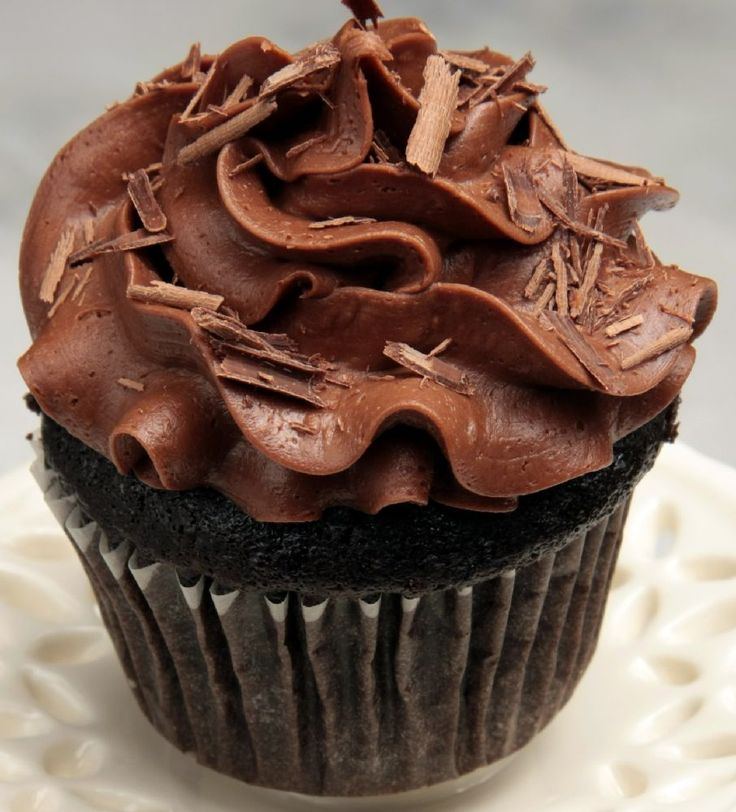 Espresso Chocolate Cupcakes | OMG, that looks sooo good!! | Pinterest