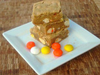 candy corn upside down cake candy corn white chocolate m m blondies ...