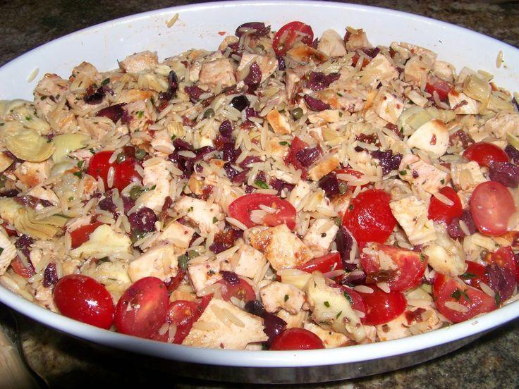 Kieran's Chicken, Artichoke and Sun Dried Tomato Salad | Recipe