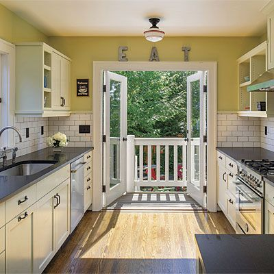 French Door Kitchen Shipping Container Homes Pinterest