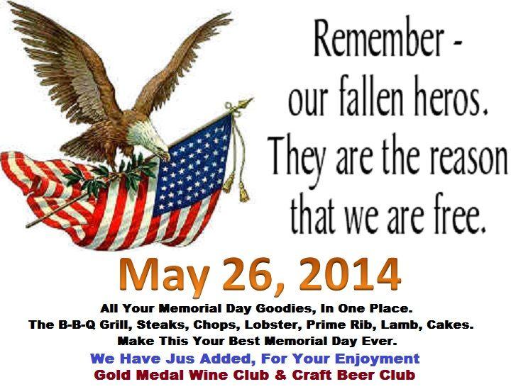 memorial day email blast