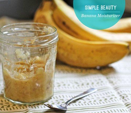 DIY Banana Hair Moisturizer and 7 Other Natural DIY Beauty Tips  (makes feet smooth!!!)