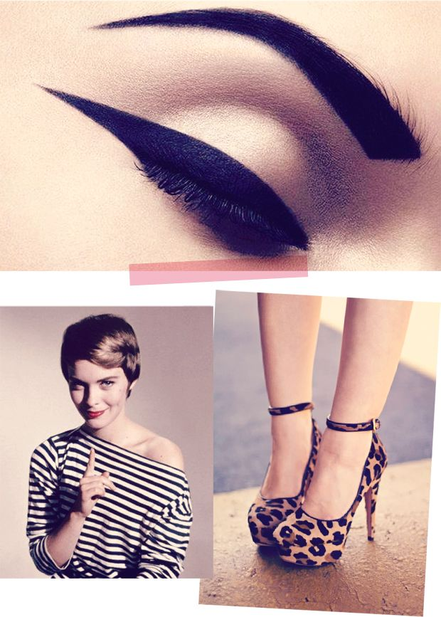 eyeliner and brows 2dye4
