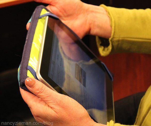 Nancy Zieman/Clover/sewing notion/Tablet Keeper Templates | Nancy ...